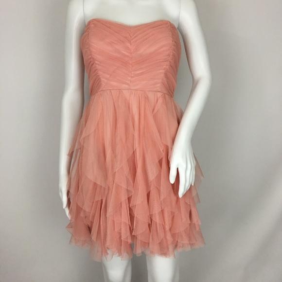 e325e0a24 Teeze Me Dresses | Pink Ruffle Tulle Mini Dress Size 3 | Poshmark